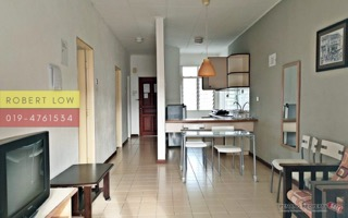 KEY with me – BAYU EMAS (2 room) Fully Furnished, Corner unit