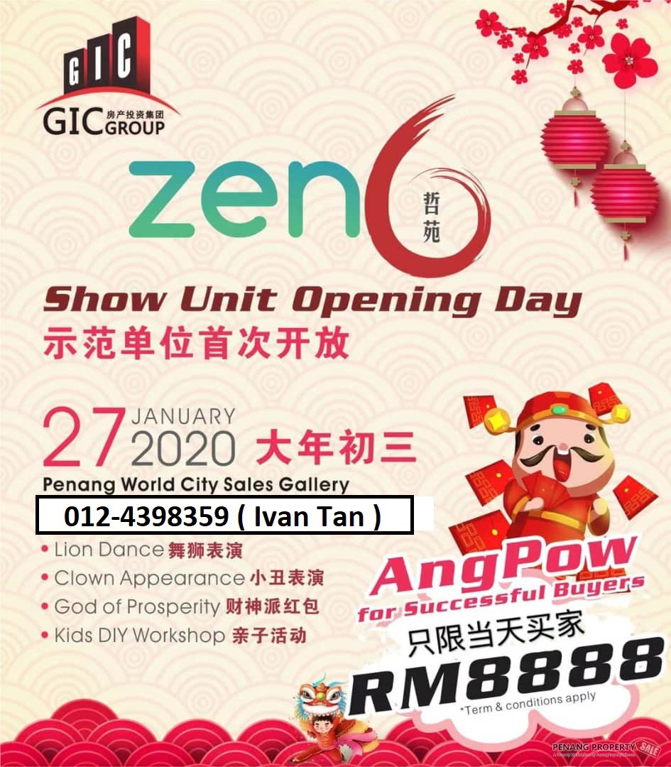 Zen 6 New Condo【ShowRoom Ready To View?...