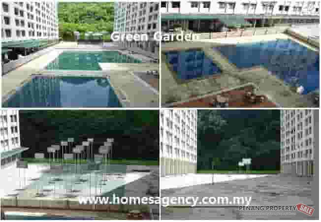 Ref: 7258, Green Garden Block A @ Paya Terubong near Relau,Air-port