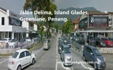 Jalan Delima Double Storey for rent