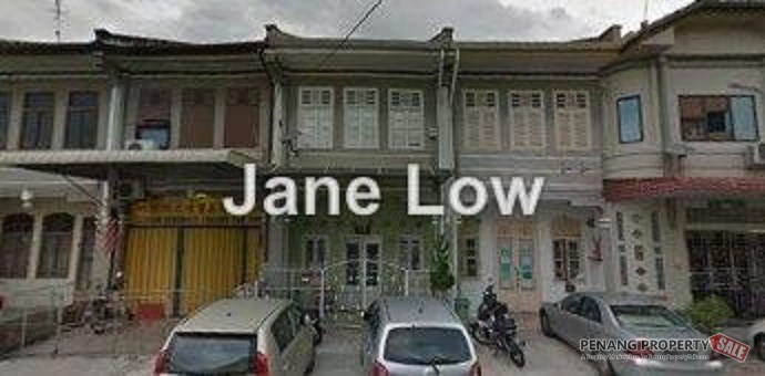 FOR SALE : 2 storey Terrace House at Jalan Merican Georgetown Penang