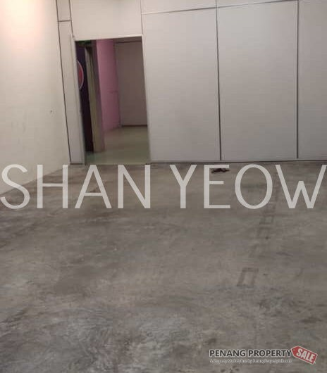 2Sty Shoplot Office Delima Juru, Partition Ready