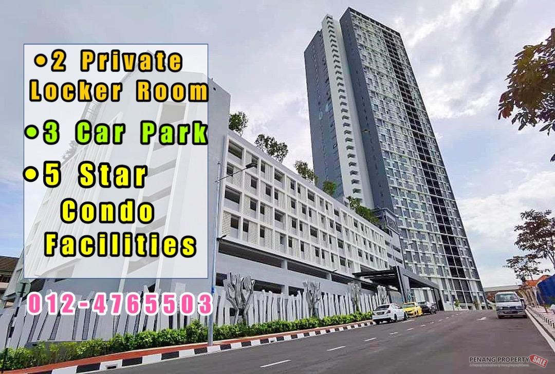 Taman Sri Nibong_Novus Condo_3 Car Parks_2 Private Locker Room