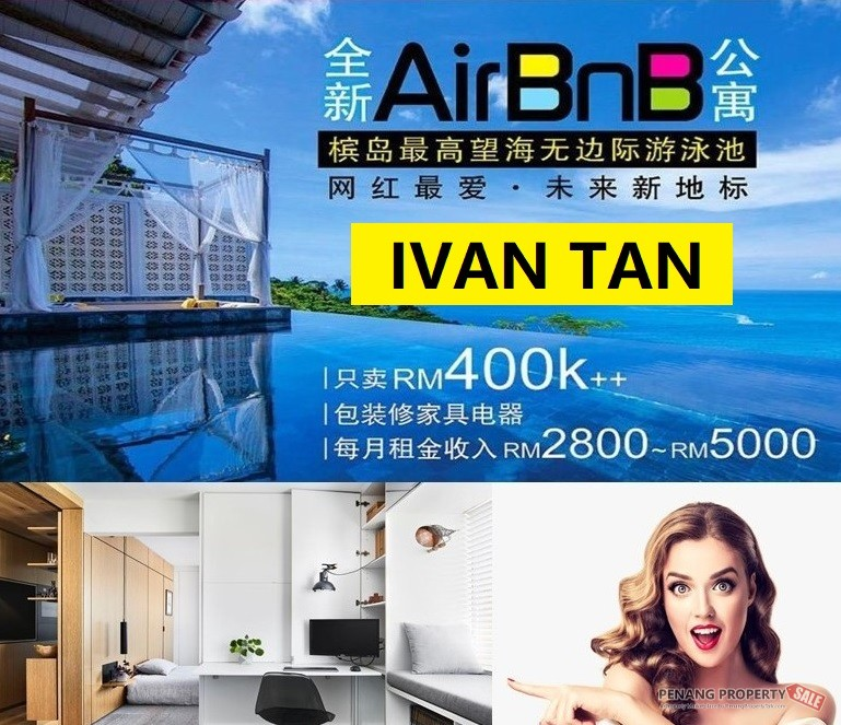 【VIDEO】BRAND NEW SERVICE SUITE_INFINITY POOL AT ROOFTOP_FULLY RENO+FURNIS