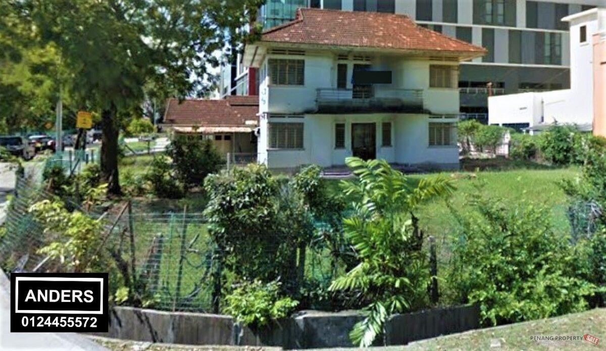Heritage Bungalow Georgetown Penang City Centre Corner Unit FOR RENT