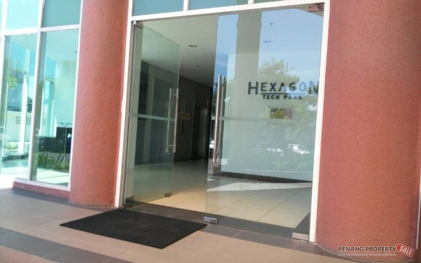 Hexagon Tech Park @ Georgetown,  a light industrial , commercial & warehouse space in Penang for rent