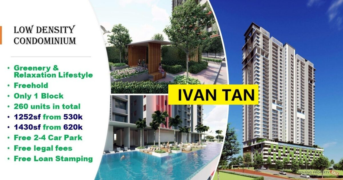 BAYAN LEPAS_LOW DENSITY CONDO__NEW PROJECT_FREE LEGAL FEES