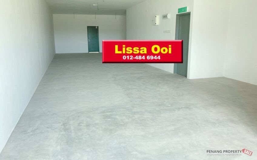 Ground Floor, 1 St, 2 or 3 Sty Shoplot For Rent, Juru, Bukit Minyak near Industry area