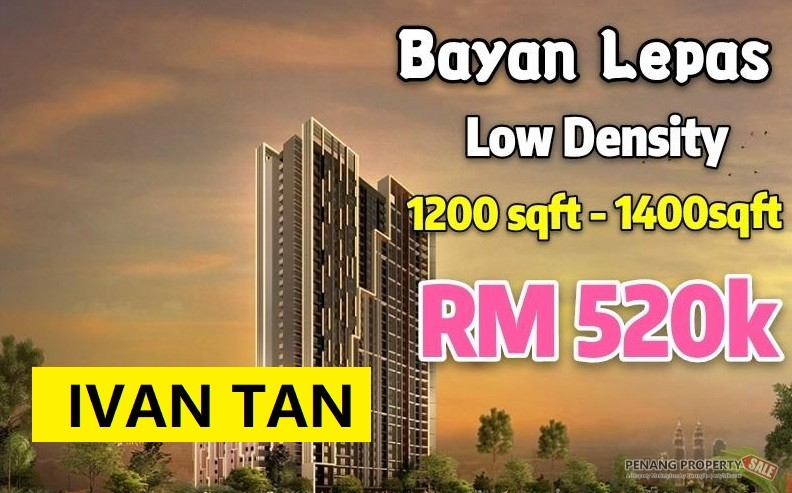 NEW PROJECT AT BAYAN LEPAS_LOW DENSITY_ NO AGENT FEE
