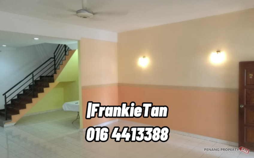 Bagan Lalang Butterworth 2 Storey Terrace House For Sale Nearby Raja Uda & Ong Yi How