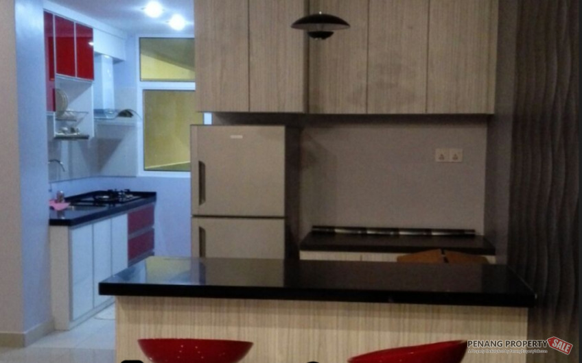 Bayan Lepas Summerton Studio Fully Furnished Unit For Rent Nearby Queensbay Mall, Free Industrial Zone & Penang Bridge