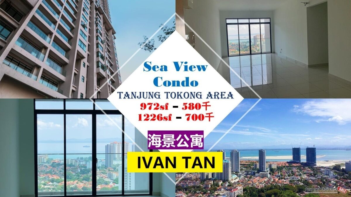 【VIDEO】TANJUNG TOKONG_MONT RESIDENCE_FREE LEGAL FEES_NICE VIEW