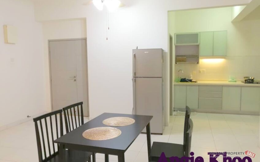 Golden Triangle at Sungai Ara 1300sqft FULLY FURNISHED AND RENOVATED