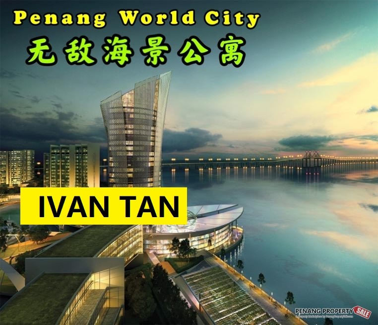 【VIDEO】PENANG WORLD CITY_全新海景公寓项目_SEA VIEW CONDO_NEAR QUEENSBAY MALL