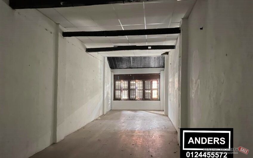Heritage Shop Lot Lebuh Chulia Near Love Lane FOR RENT