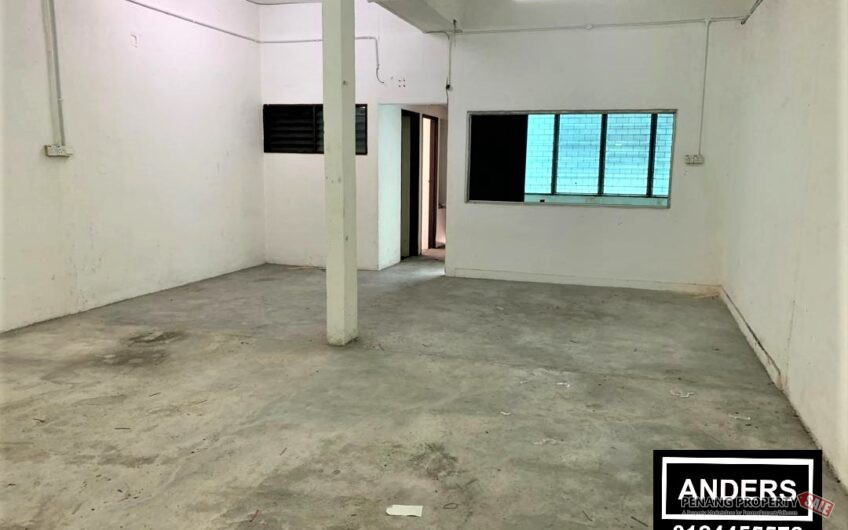 Kompleks Chain Ferry @ Jalan Chain Ferry Double Storey Shop Office FOR RENT Butterworth