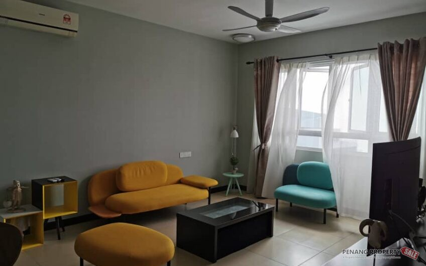 Pearl Regency Easy Access At Gelugor, Fully Furnish, RM1mil, Sea View