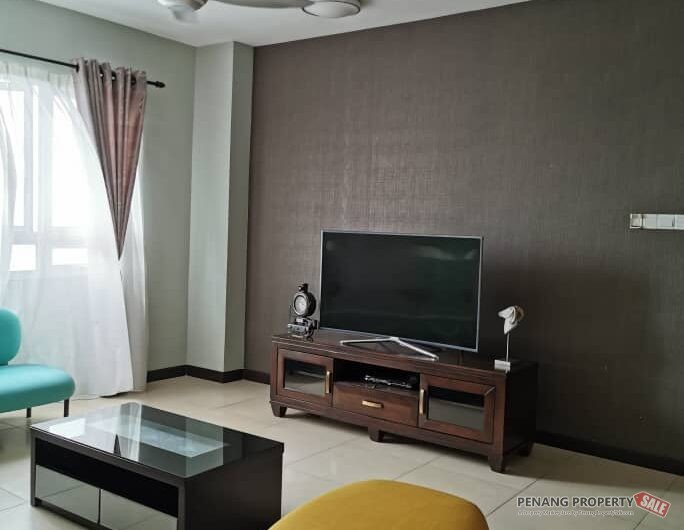 Pearl Regency Easy Access At Gelugor, Fully Furnish, RM2300, Sea View