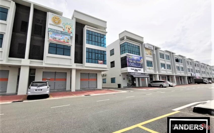 Orange Avenue Shop Lot Ground Floor – Bagan Ajam Butterworth FOR RENT Next To TESCO