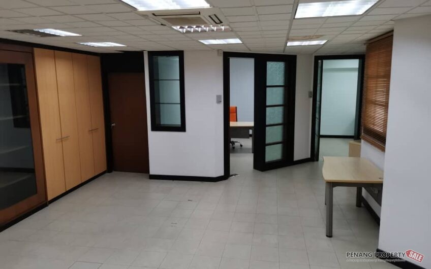 Wisma Lister Garden Georgetown macalister road office ground floor RARE IN MARKET