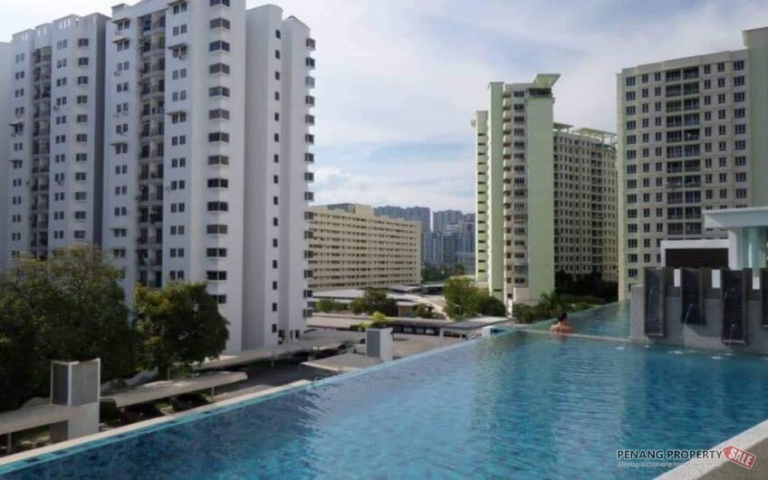 (Corner) Summerton at Queensbay, Bayan Lepas, Fully Furnish, Homestay Favourite Location, Sell RM900k