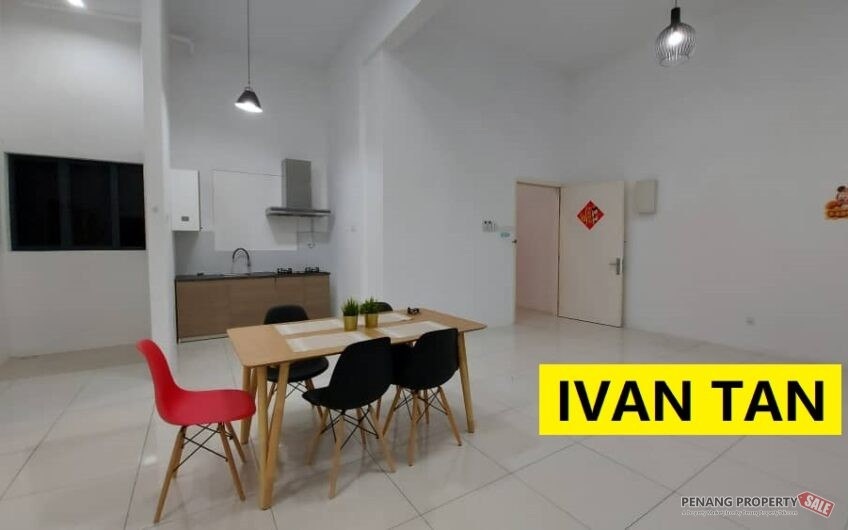 Skyview Residence Jelutong with 6 Aircon Kitchen Cabinet Near Artis 3