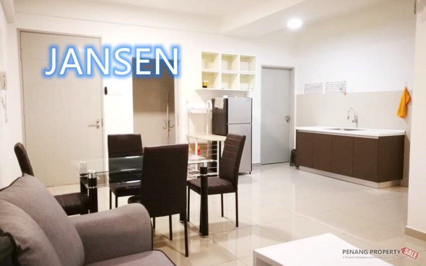 (Nice Layout) The Promenade, Bayan Baru, Easy Access, Fully Furnished, RM520k