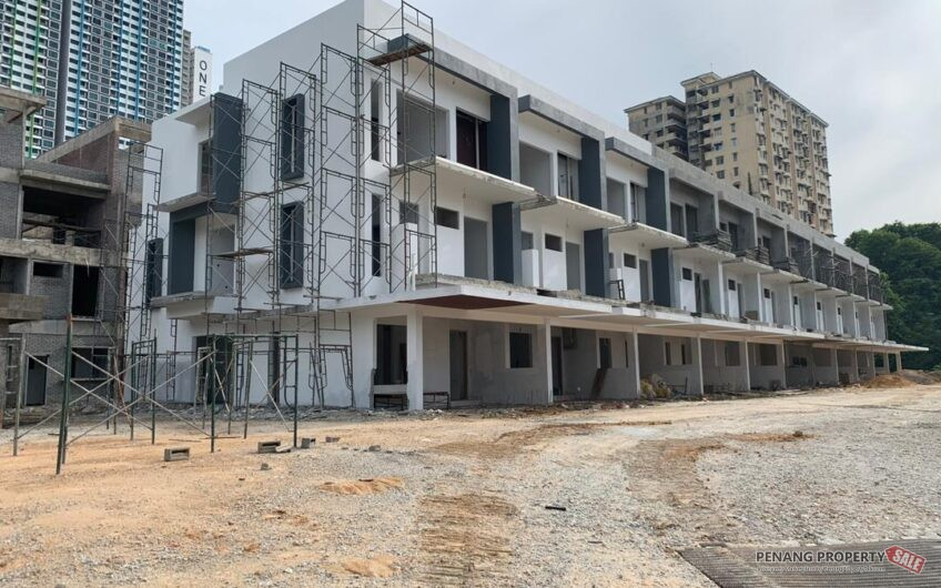( New Project ) 3 storey ROOFTOP GARDEN Gated & guarded landed houses at bayan lepas