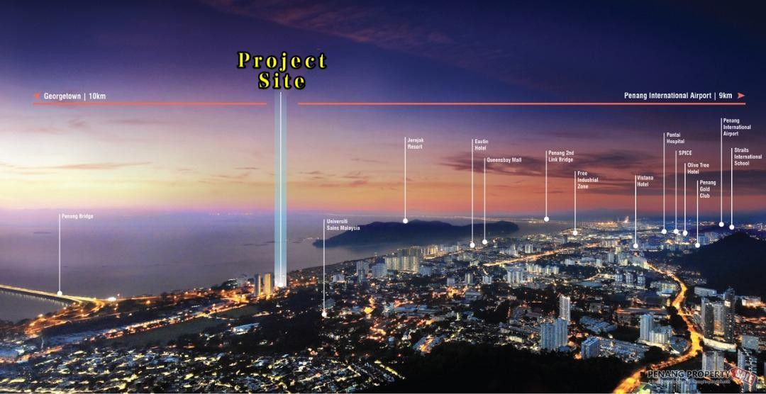 Penang World City_全新海景公寓项目_Sea View Condo_Near Queensbay Mall