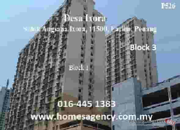 Ref: 9720, Desa Ixora 2 rooms Flat at Farlim near market, 4seasons, Hero