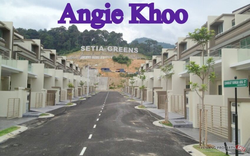 SETIA GREEN 3 Storey Terrace at Sungai Ara [GATED & GUARDED]