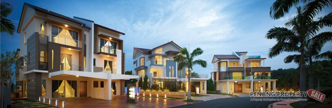 Isle of Palm ( new landed semi-d projet ) at bayan lepas with private pool & home lift ( last unit available )