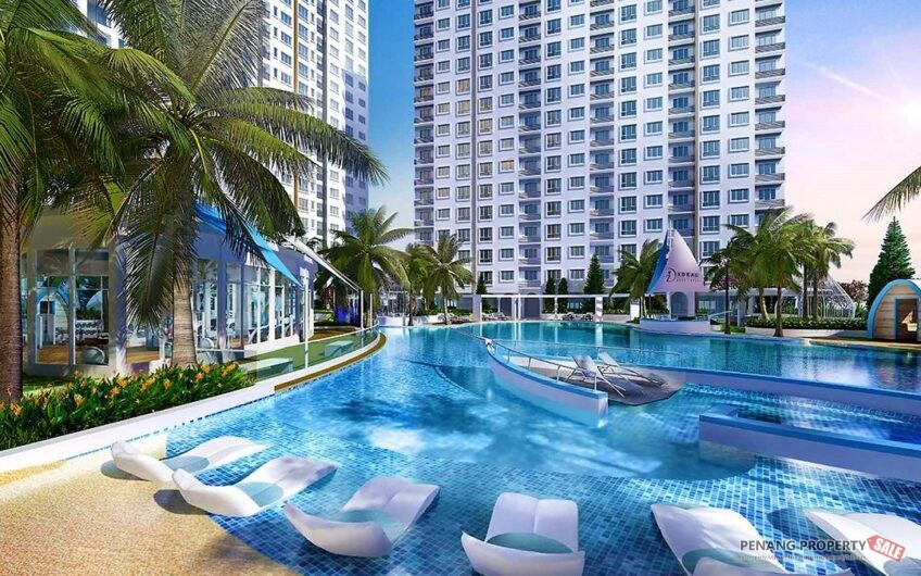 Penang, Penang Island, New Service Condo Apartment in Bayan Lepas. 800sf Dual Key units from 352K!
