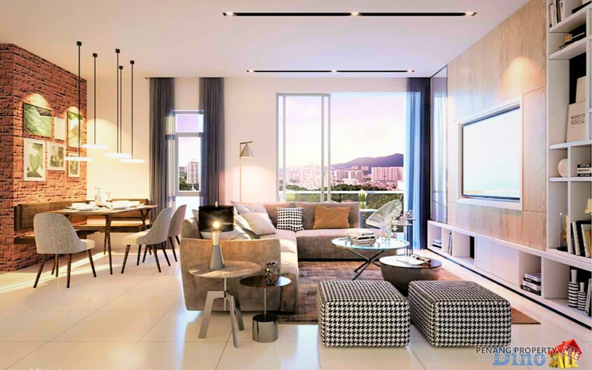 * Penang Island, New Terraces Condo in Bukit Jambul. 950sf, 3 Bedroom from Rm476k above!