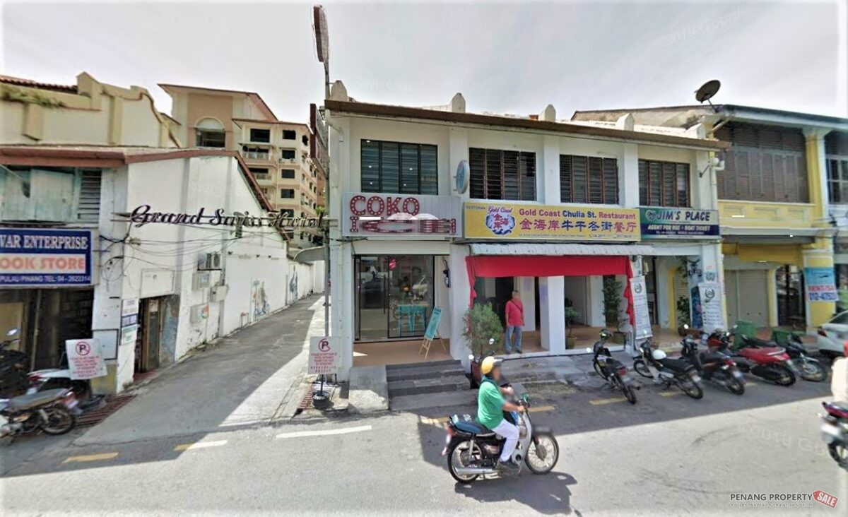 Heritage Shop Lot Georgeotown Lebuh Chulia Two Adjoining Units FOR RENT