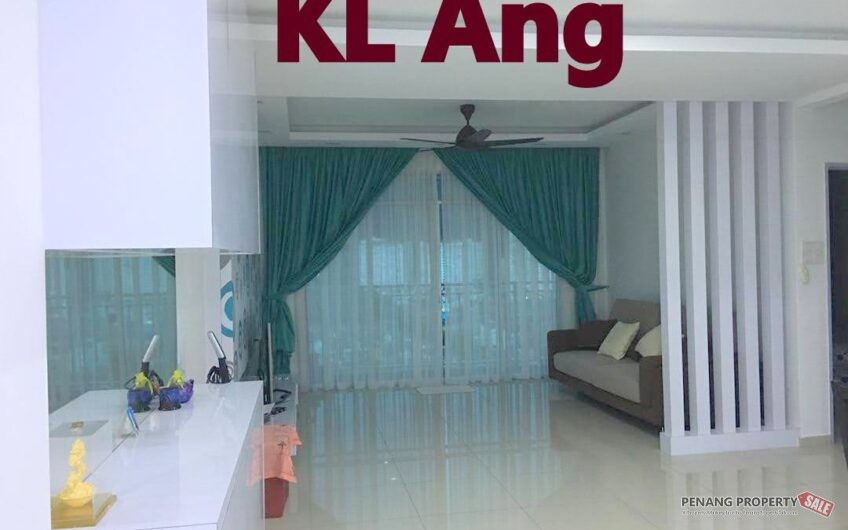Sierra Residence at Sungai Ara, 1182SF Fully Furnished & Renovated Unit, 2 Car parks