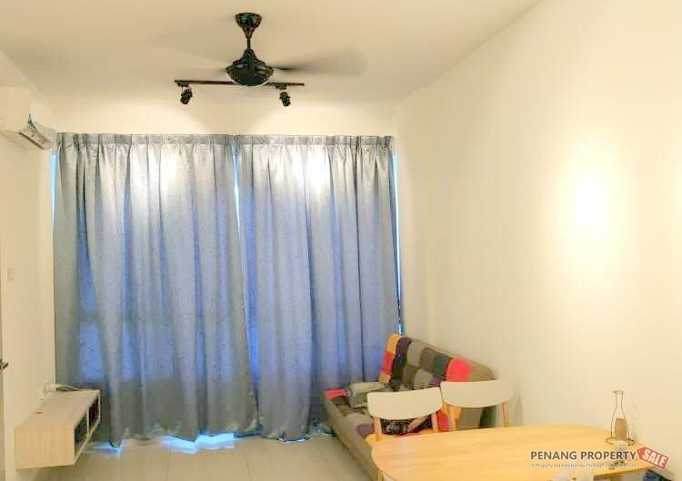 Tropicana Bay near Queensbay 615 sqft Studio Fully Furnished & Renovated Unit