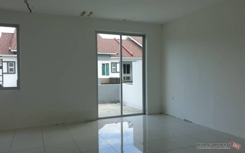 Carnation Villa, Bukit Minyak. 2 Storey Superlink House Corner Unit