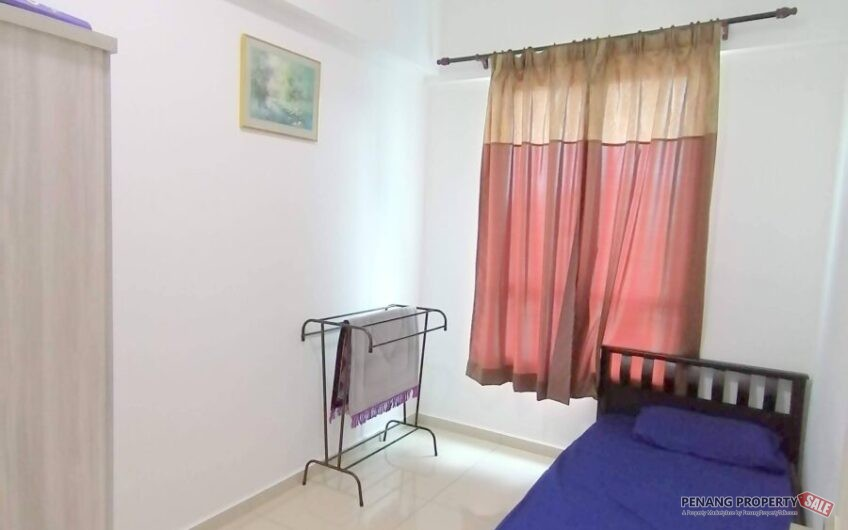 Solaria Residence at Bayan Lepas, 1115 sqft Fully Furnished & Renovated 2 Car parks