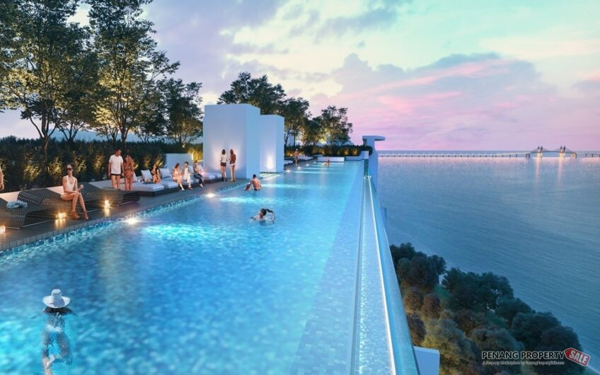 Queensbay Area_QuayWest Residence_Sea View Sky Infinity Pool_槟州世界城
