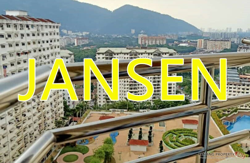 (Freehold) Asia Height, Farlim Ayer Itam, Fully Furnished, 1 car park
