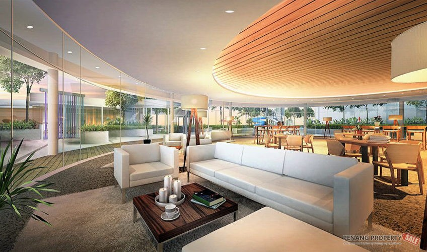 Penang Island, The Amarene, New Launch Condo Project in Bayan Lepas. 1100sf, 3+1 Room 2 Bath.