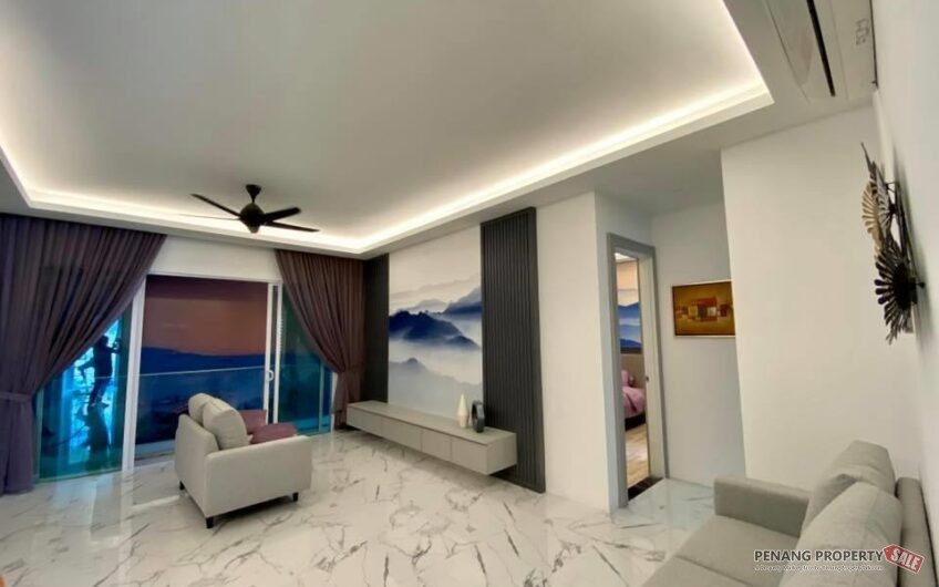 Queensbay Area_QuayWest Residence_4 Rooms Unit_Sky Infinity Pool_槟州世界城