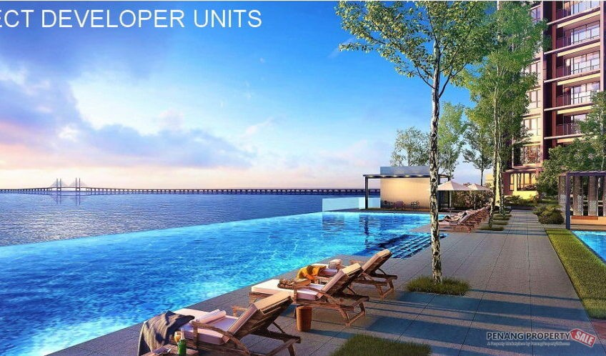 Penang Island's New Latest Waterfront Condo Project in the Light City of East Coast, Gelugor. Pre Launch for Booking Now