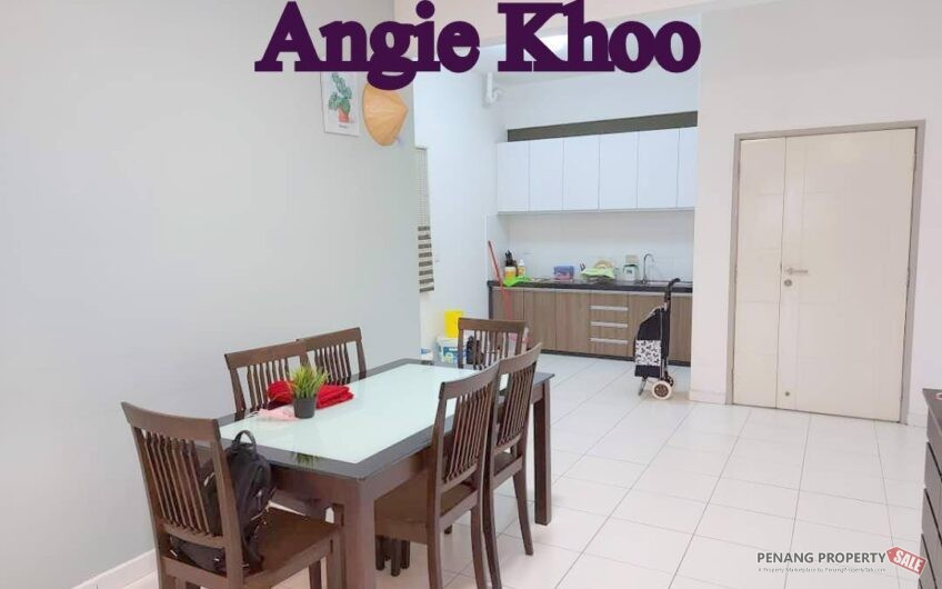 Golden Triangle at Sungai Ara 1165SQFT Fully Furnished and renovated