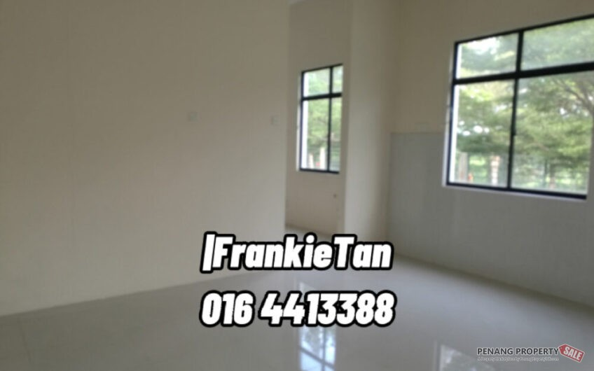 2 Storey Bungalow Corner House For Sale Located At Juru Heights, Penang