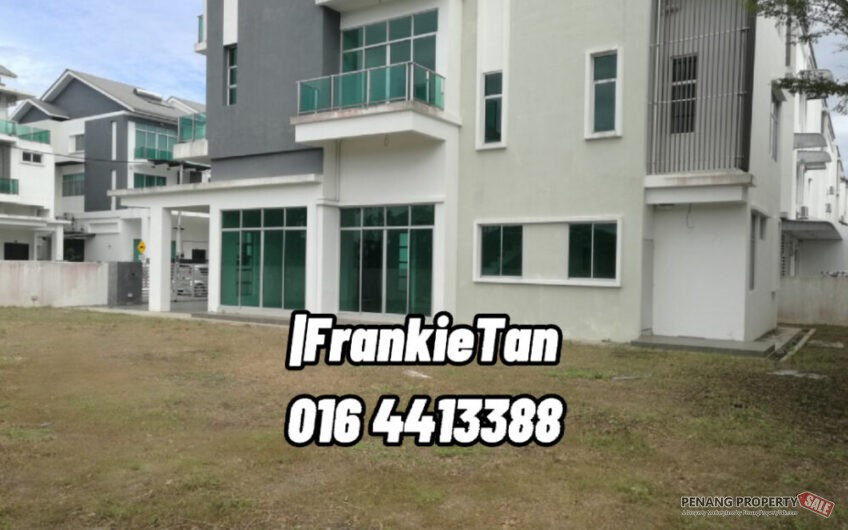 3 Storey Bungalow Corner House Bigger Land Area Located Within Township Of Raja Uda In Butterworth