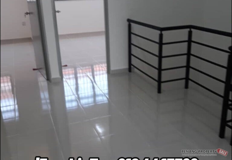 Bagan Lalang Butterworth 2 Storey Terrace House For Sale