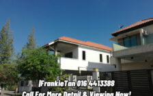 2 Storey Bungalow Corner House For Sale Located At Ju...