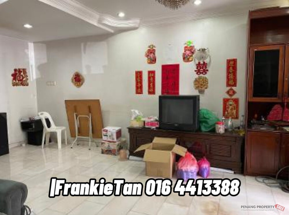 2 Storey Terrace House For Sale Located Raja Uda Ong Yi How, Butterworth